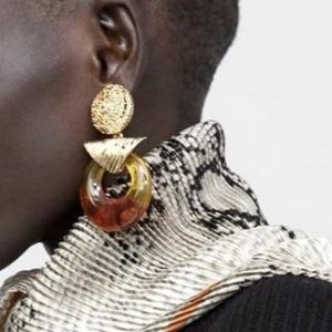 DJARABI BROWN EARING - Lauren Nodg 02