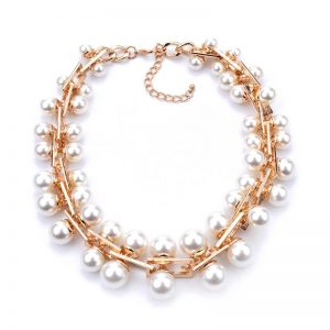 WHITE PEARLE NECKLACE - Lauren Nodg 04