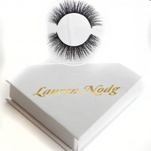 Eyelashes - Lauren nodg eye make up 7